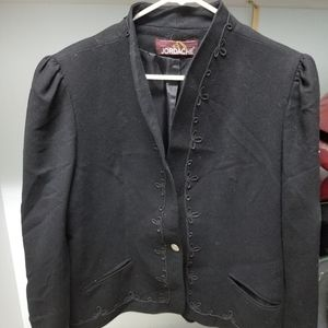 Jorache Black Jacket Vintage  Large
